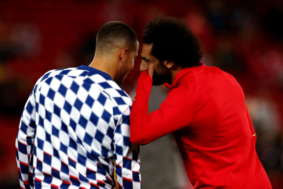 Hazard and Salah are two of the Premier League's finest players