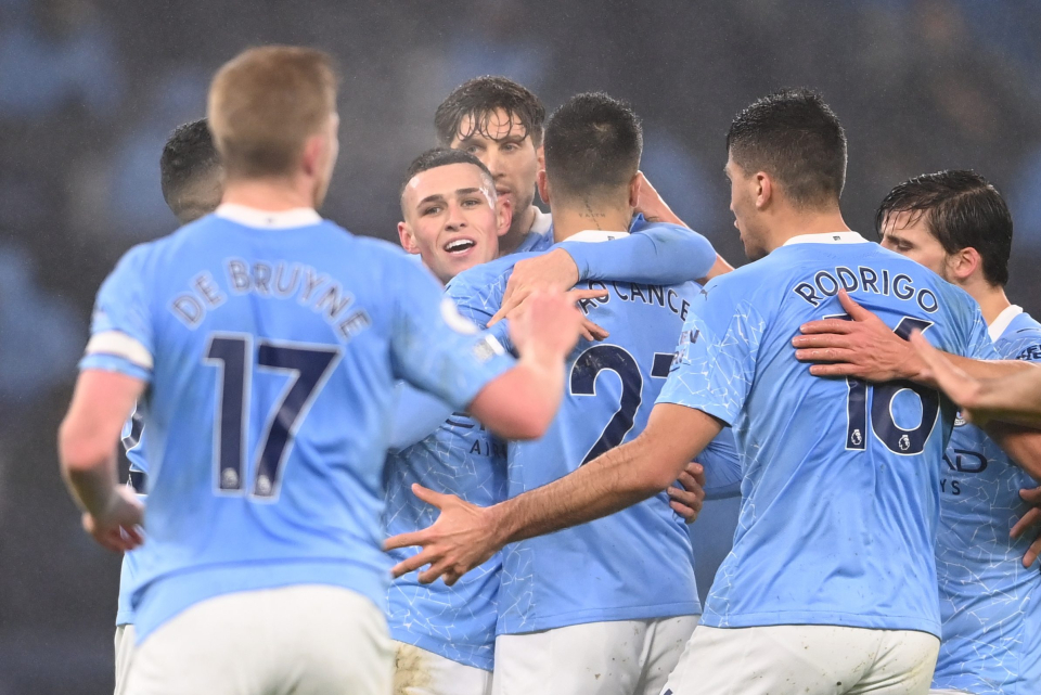 Foden is now Man City's top scorer this season