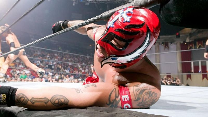 Rey Mysterio was the second entrant in the 2006 Royal Rumble
