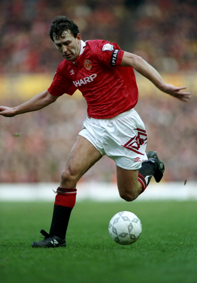 Robson was the longest serving captain in Manchester United history
