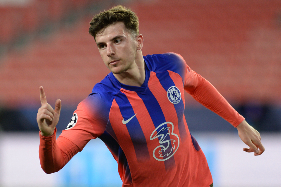 Mason Mount scored his first ever Champions League goal for Chelsea