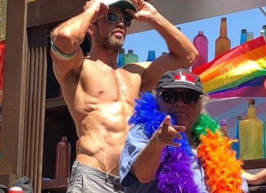 Mcelhenney has joked about how easy it is to get a physique like his… if you happen to know the Magic Mike trainer!
