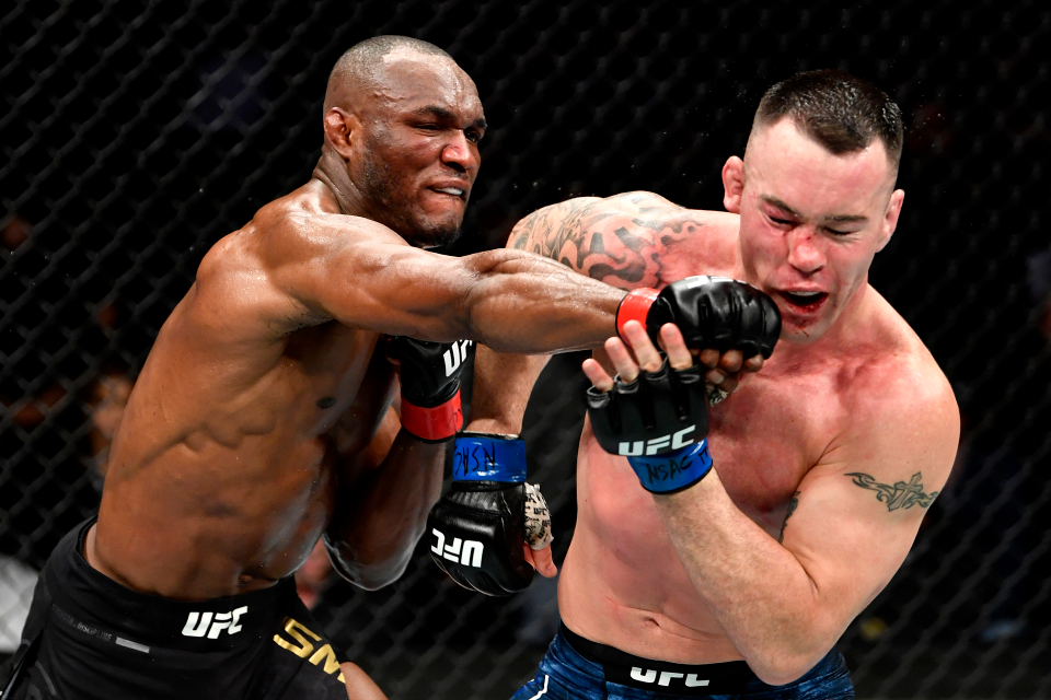 Kamaru Usman defeated 'Chaos' in December 2019 in an epic welterweight title fight