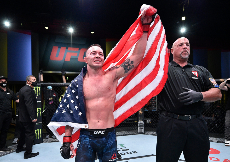 Colby Covington has been a proud supporter of Donald Trump