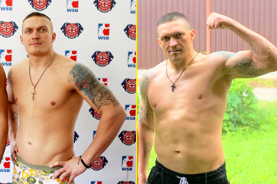 Usyk is becoming a bigger heavyweight