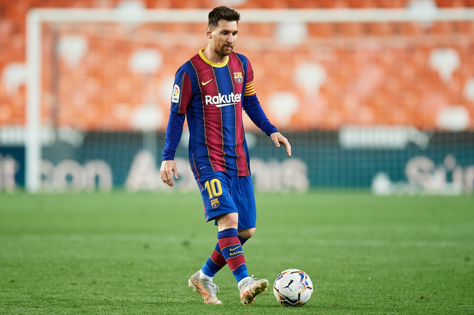 Messi has been associated with Barca since he was 13 years old