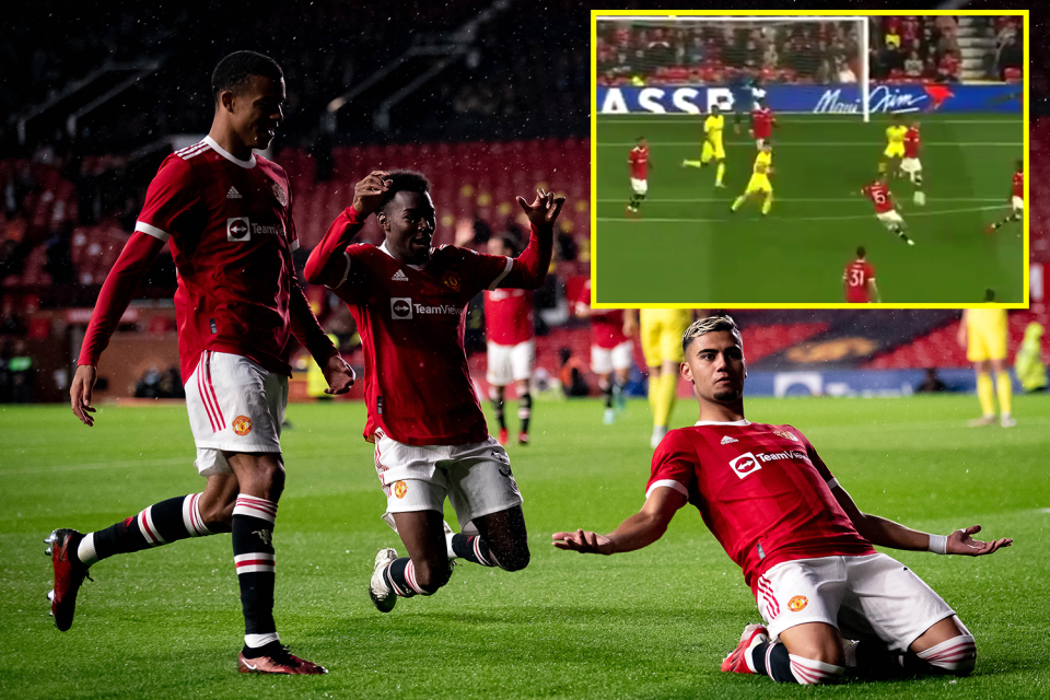 Pereira's volley was out of this world