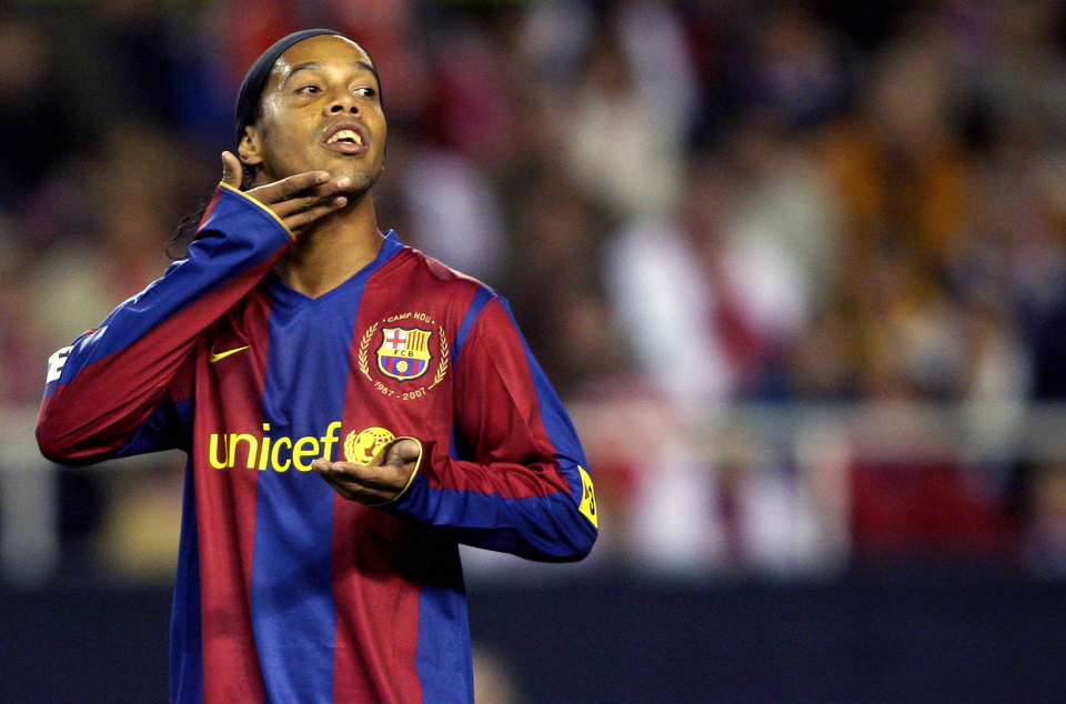 Ronaldinho was the greatest player of his time