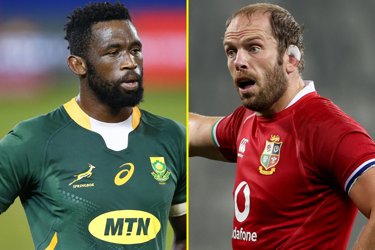 The British and Irish Lions and South Africa have made three changes for the second Test in Cape Town