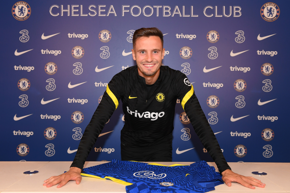 Chelsea fans are certainly excited for Saul's arrival