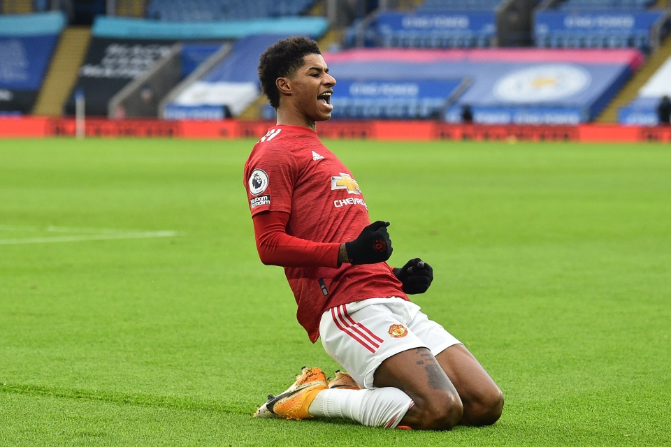 Rashford received an MBE for his campaigning