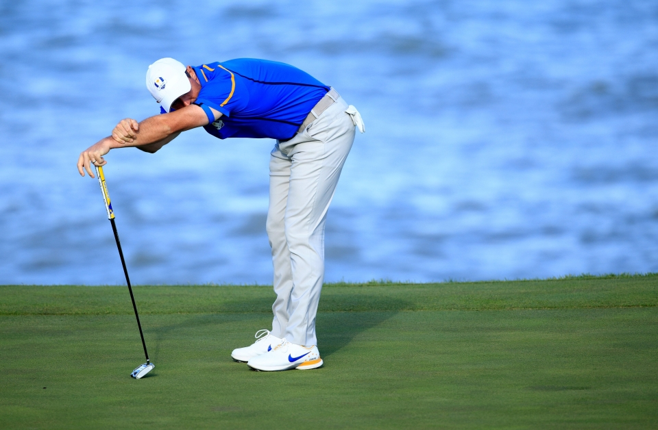 McIlroy was soundly beaten in both matches