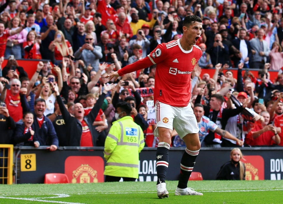 Ronaldo already has four goals on his return to Man United and his next opponents are Villa, who he's scored plenty against